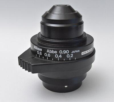 Nikon Microscope 0.9 Abbe Rotating Pol Condenser Eclipse E400 E600 E800 50i 80i