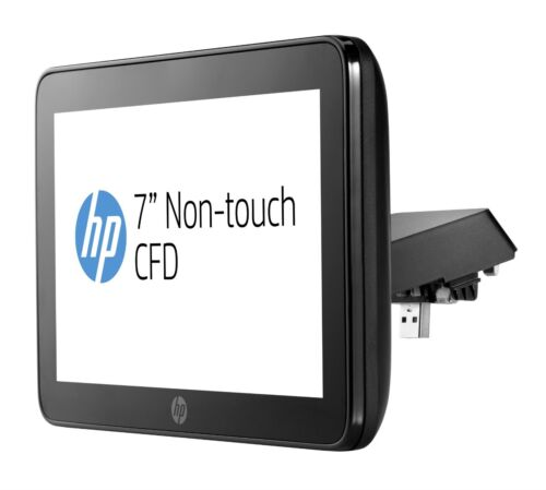 "HP Rp9 Integrated 7"" Non-Touch USB Customer display Top With Arm P5A56AA"