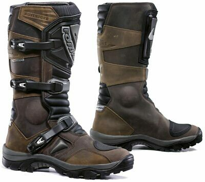 Forma Adventure Leather Motorcycle Boots Black or Brown Ride Magazine BEST