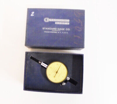 Vintage Machinist Lathe Dial Indicator Gauge Standard Gage Co. 510000