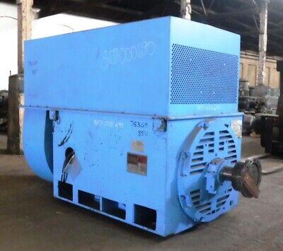 1000 Hp General Electric Motor 514 Rpm 8511su Frame Tefc 4000v