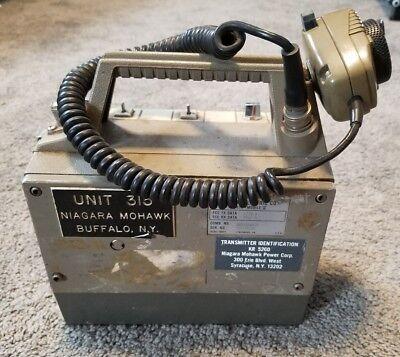 GE GENERAL ELECTRIC PORTA-MOBIL II NIAGRA MOHAWK POWER PLANT BUFFALO NEW YORK