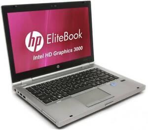"""HP Elitebook 14""""HD,8 GB Ram, Win 10pro x64, 256 gb SSD,fast Unit."""