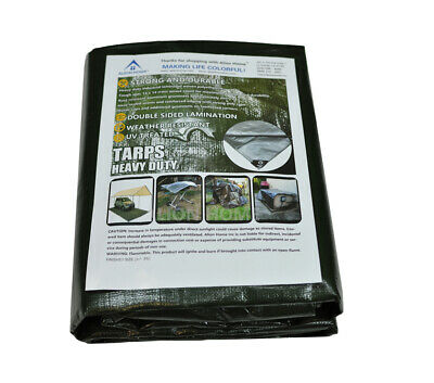 Duty Polyethylene Tarp (Heavy Duty All Purpose Poly Tarp 12Mil Waterproof Cover Tarpaulin by Alion)
