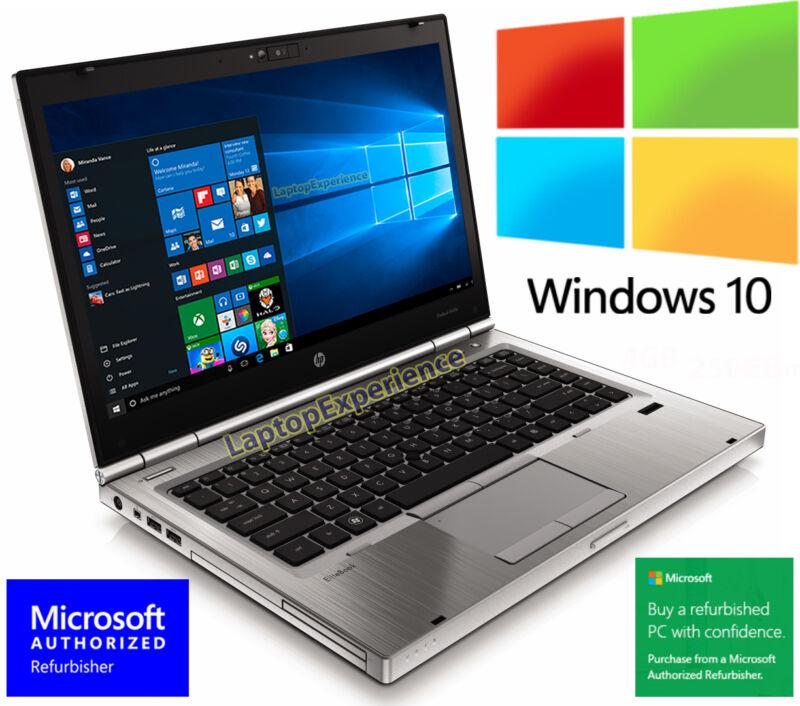 HP LAPTOP ELITEBOOK 8460p i5 2.5GHz 4GB DVDRW WEBCAM WINDOWS 10 WIN WiFi PC HD