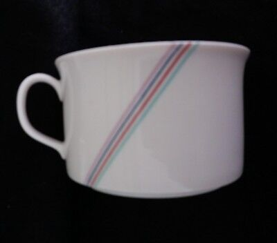 Rorstrand Rainbow Pattern Coffee Tea Cup - B. Vallien