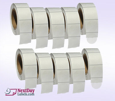 Clear Retail Package Seals 1.5 Inch Round Wafer Labels 1000 Per Roll 10 Rolls