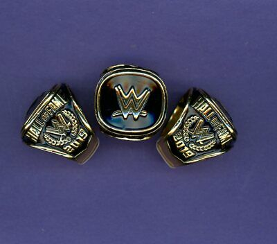 2019 WWE Hall of fame Championship Ring  REPLICA Size 11 Hall Of Fame Ring