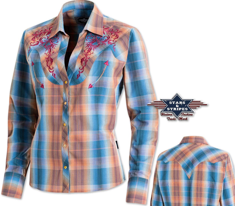 "Western-Bluse ""Whitney"" / Karobluse / Show-Shirt - Gr. S            *** SALE ***"