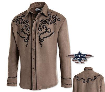 Stars & Stripes Herren-Westernhemd Anthony Cowboy Westernmode & Westernkleidung online kaufen