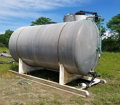 6000 Gallon Storage Tank Aluminum Storage Container Bulk Water Diesel Gas