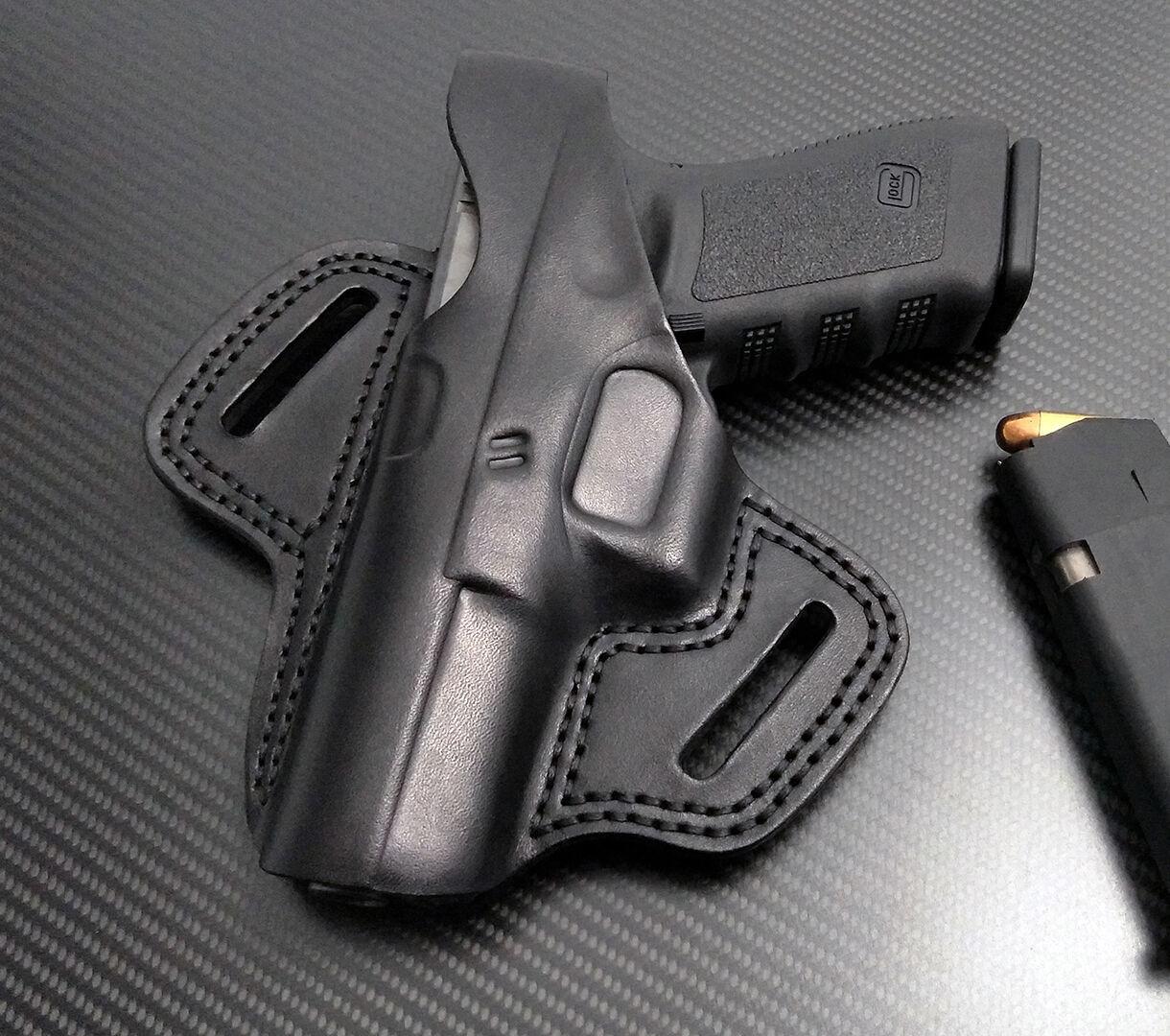 Fits Glock 17,19,22,23,24,31,32,34,35,37,38, LEFT Hand BLACK