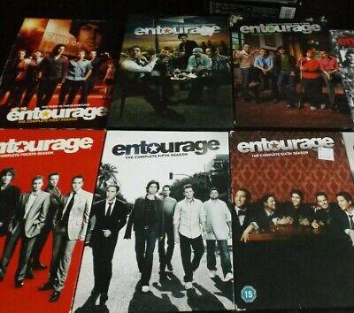 ENTOURAGE – SERIES DVD COLLECTION (SEASONS 1-6) FREE (Entourage Collection)