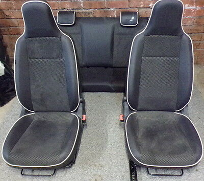 11156 2C2 2014-2016 SEAT MII BY MANGO 5DR FULL SET OF HALF LEATHER/SUEDE SEATS