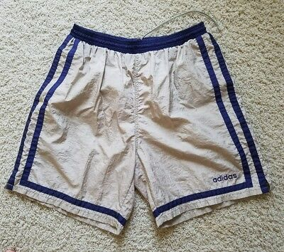 Men's Adidas Vintage Running Training Basketball Tennis Shorts Size L (EUC)