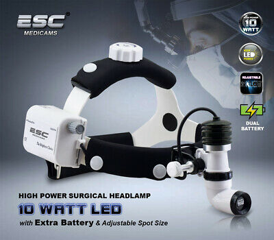 Dental Surgical Headlight Ent Medical Headlamp Led 10 Watt Wireless Rechargeable