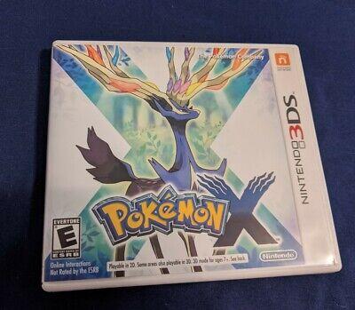 Pokemon X (3DS, 2013)