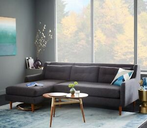 3 seater sofa with chaise Kew Boroondara Area Preview