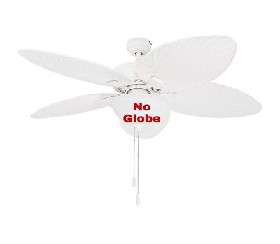 Prominence Home 80017 Tropical Ceiling Fan Palm Leaf Blades, NO GLOBE! Ceiling Fan Leaf Blades