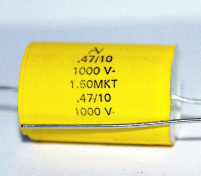 0.47uf 1000v Arcotronics Mkt Capacitors 1pcs.