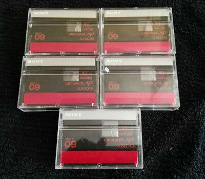 Видеокамеры 5 Sony mini dv tapes