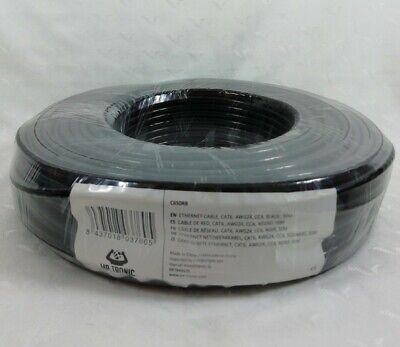 Mr. Tronic 50m Ethernet Network Bulk Cable | CAT6, AWG24, CCA, UTP...