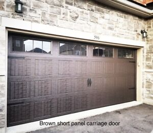 16Xx7 INSULATED GARAGE DOORS................. $1400