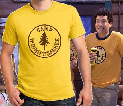Jimmy Halloween (Camp Winnipesaukee Funny T-shirt Jimmy Fallon Halloween Costume Shirts Mens)
