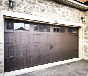 16x7 INSULATED CARRIAGE GARAGE DOORS......... $1300 INSTALLED