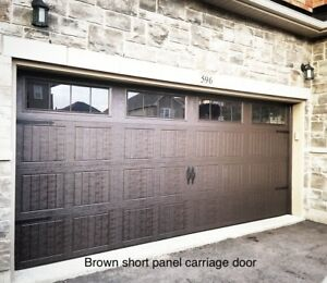 16x7 INSULATED CARRIAGE GARAGE DOORS........ $1400 INSTALLED
