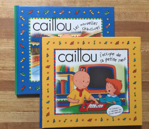 2 CAILLOU (FRENCH version) Hardcover Books