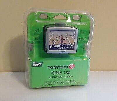 NIB TOMTOM One 130 GPS, United States and Canada