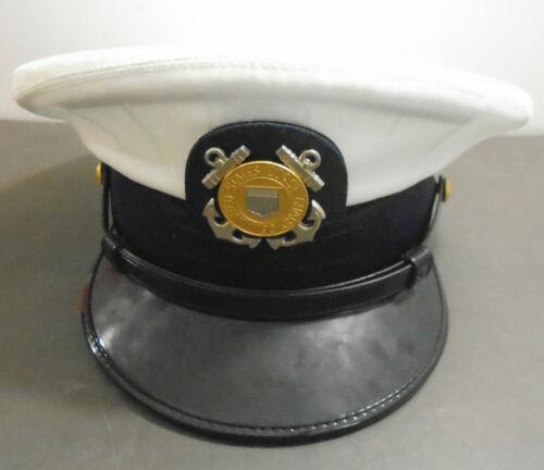 VINTAGE BERNARD SNAP CAP UNITED STATES COAST GUARD HAT CAP SIZE 7 1/2