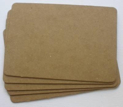 {10} ATC  *ARTIST TRADING CARD* Bare Chipboard Die Cuts