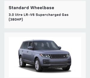 Wanted: 19 Range Rover V6 supercharge HSE