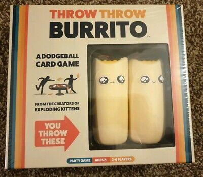 New Throw Throw Burrito - Card Game