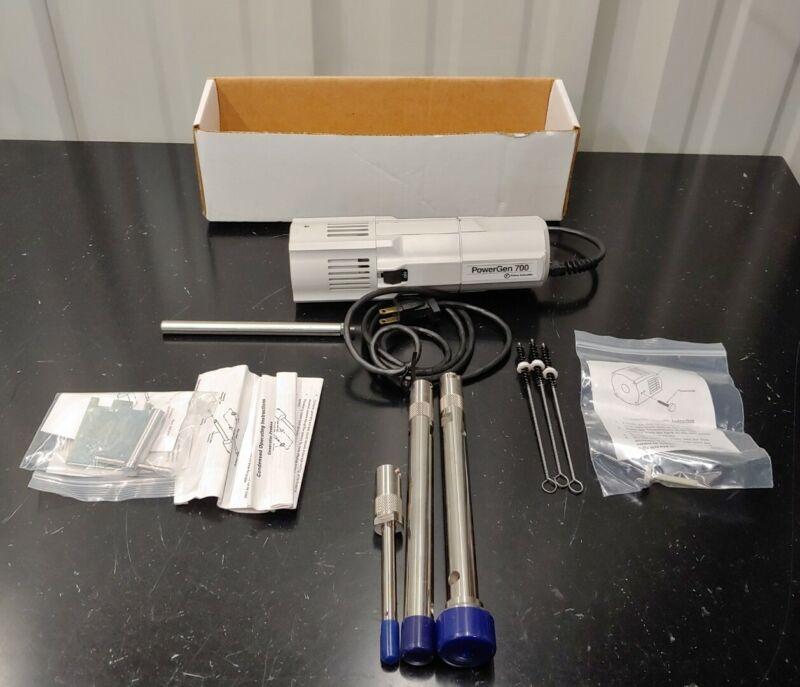 Fisher Scientific PowerGen 700 Homogenizer with Generator 3 Probes & Accessories