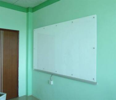 Magnetic Glass Whiteboard 1200x2400mm