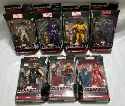 Marvel Legends 2015 Infinite Avengers The Allfather BAF Set of 7 odin,thor