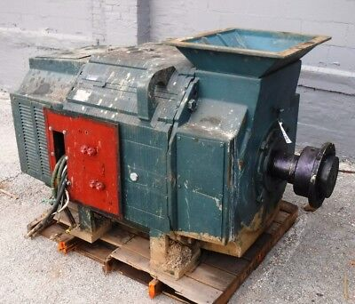 500 Hp Dc Reliance Electric Motor 400 Rpm B844at Frame Dpfv 500 V