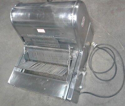Berkel Model Mb Commercial Restaurant Bakery 12 Bread Slicer. Stainless Steel