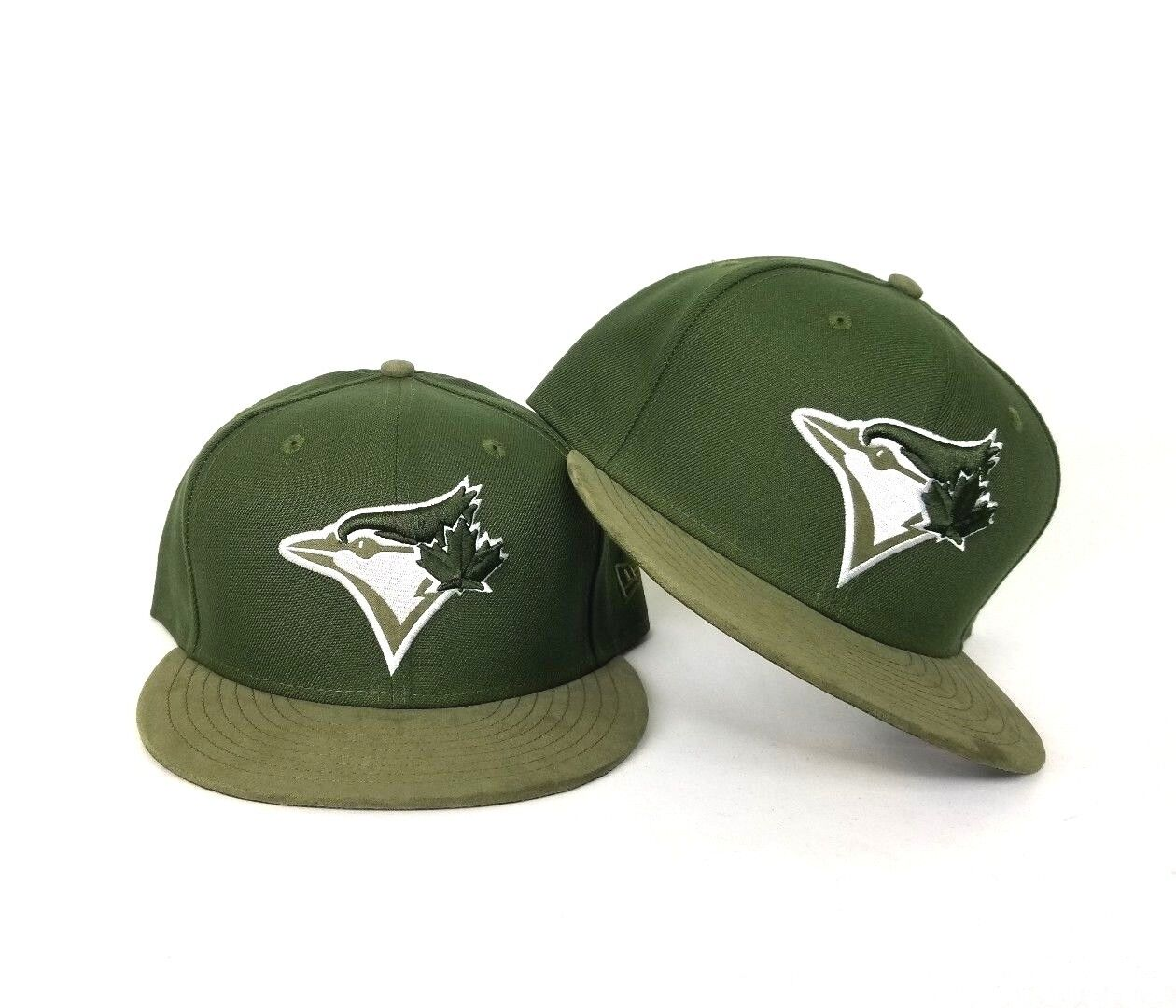 428028342 Details about New Era Olive Green Toronto Blue Jays 59Fifty Fitted hat  Jordan 12 Chris Paul