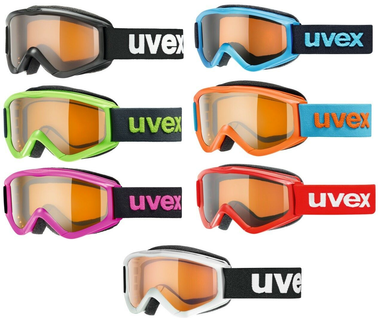 UVEX SPEEDY PRO Kinder Skibrille Snowboardbrille Collection 2019 - NEU !!!