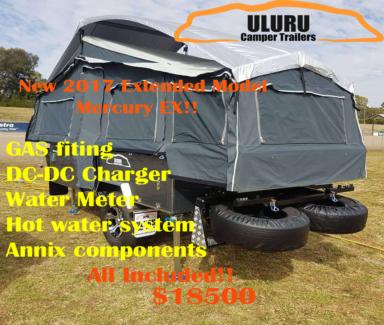 2017 Uluru Christmas Sale : Slide out Model