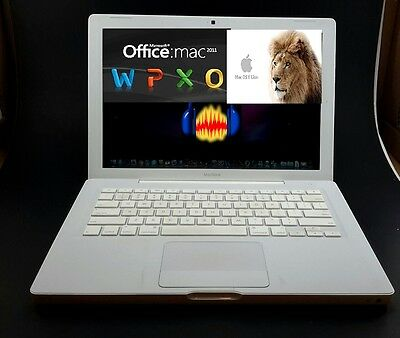 FULLY LOADED Apple Macbook 13 A1181 2.0GHz 2GB RAM 120GB with OFFICE MAC 2011