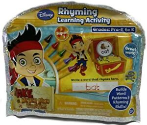 Disney JAKE AND THE NEVER LAND PIRATES Rhyming Learning Kit