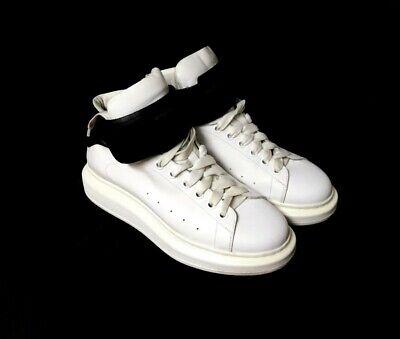 Alexander Mcqueen Oversized Sneakers 11 44 White Leather Avant Garde MCQ