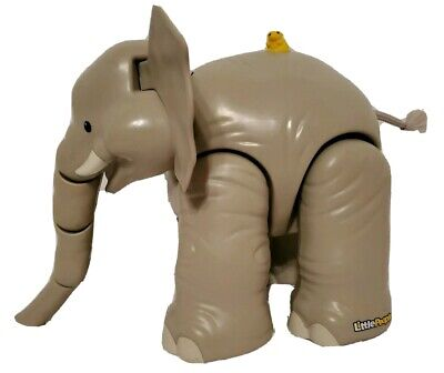 Fisher Price Little People Animals Zoo Large Elephant With Sounds Works