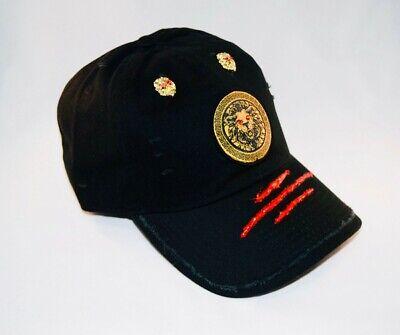 Damier Langevinè®  Designer Trendy Cool Distressed Baseball Cap -Ysl Versace Hat