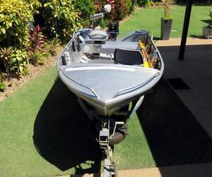 ALLYCRAFT 3.95m Tinny with 30hp TOHATSU outboard and Trailer Yeppoon Yeppoon Area Preview